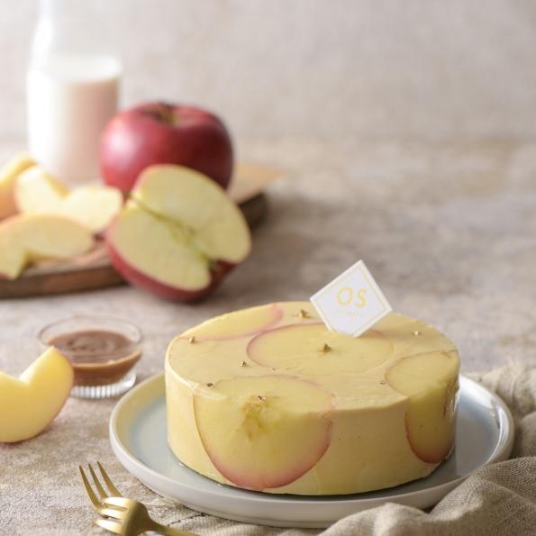 蘋果肉桂慕斯蛋糕